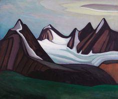 Lawren Harris, Mountain and Glacier, 1930. Sold in November 2015 for $4.6 million.