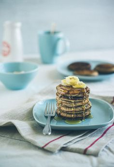"Buckwheat Pancakes - Home Cookin!!! Breakfast in Bulgaria (.... in ""Apartment 311, at the Top of the Stairs"")"