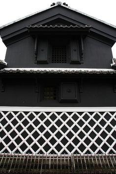 Traditional warehouse of Japanese style #japan #gifu #mino
