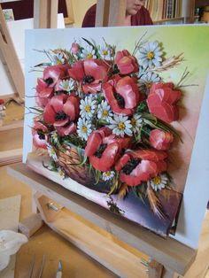 3d Paper Art, 3d Paper Crafts, Clay Wall Art, Clay Art, Pebble Mosaic, Mosaic Art, 3d Art Painting, Decoupage Art, Ceramic Flowers
