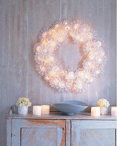 Snowflake lights diy christmas martha stewart and decoration solutioingenieria Image collections
