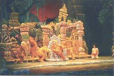 jungle book props | TIP***The ITtbaB theater has continuous bench-type seats with ...