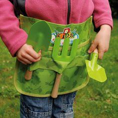 Ceinture porte outils et outils de jardinage pour enfant