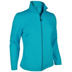 "Monterey Club Ladies Classic Solid Zipped- up Fleece Jacket #2975 (Bluebird, X-Large). Soft and stretchy fleece zipped up jacket. Front full zipped. 2 side zipped pockets. Chest: 23"",Waist: 22.5"", All measurement is approximate, -/+ 1/2"" is manufacturing standard. Monterey Club is well known for the quality in the golf industry since 1987. Products are sold in all 50 states, Puerto Rico,Mexico, and Australia."