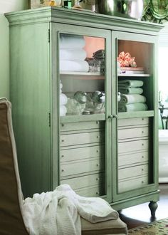Paula Deen Home The Bag Lady's Cabinet in Spanish Moss USE CODE UNV15
