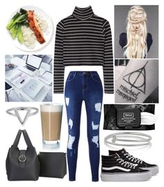 """""""Weekend"""" by musicmelody1 on Polyvore featuring Kenneth Jay Lane, Vans, Kat Von D, Rosendahl and ChloBo"""