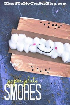 Cute idea for summer speech therapy or a camping theme! Cute idea for summer speech therapy or a camping theme! Camping Theme Crafts, Camping Crafts For Kids, Camping With Toddlers, Daycare Crafts, Classroom Crafts, Camping Ideas, Preschool Camping Theme, Campfire Crafts, Toddler Camping