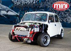 Mini Mini Cooper S, Mini Cooper Classic, Classic Mini, Classic Cars, Automobile, Classic Motors, Small Cars, Hot Cars, Custom Cars