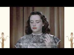 Vintage 1940s Makeup Tutorial Film - 1948 - YouTube