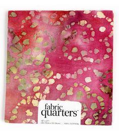 Fabric Quarters Cotton Fabric-Batiks