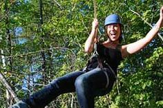 How about ziplining over Lake Geneva, WI for some thrills??