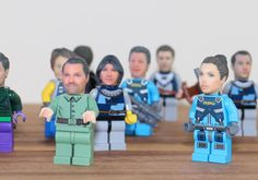 Want a LEGO minifigure of yourself? You can now have a custom 3D-printed head made using just 2 standard portraits of yourself. The service/product is bein