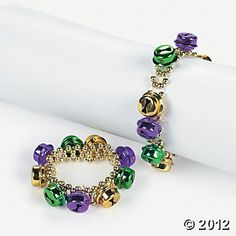 Make some noise for Mardi Gras with your accessories this year! Hand these jingle bell bracelets out at your Mardi Gras party as giveaways or put them. Mardi Gras Beads, Mardi Gras Party, Louisiana Mardi Gras, Mardi Gras Costumes, Party Favor Bags, Oriental Trading, Jingle Bells, Party Supplies, Beaded Bracelets