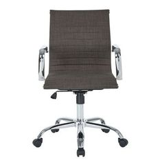 Office Star Mid-Back Executive Office Chair with Arms & Reviews | Wayfair