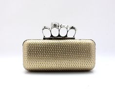 Shiny PU Handbag With Rhinestones Overlay With Cheapest Price $45.98 Offered By Prinkko