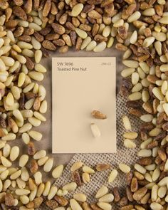 Ready for a color you'll go nuts over? Feast your eyes on Toasted Pine Nut SW 7696. It's a delicious, earthy neutral that's sure to add a hint of the outdoors to your home. Try it on your walls for a subtle paint that's gentle but not lacking character.
