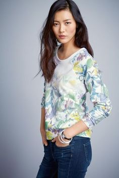 Buy Floral Print Sweater from the Next UK online shop