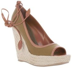 ShopStyle: Sergio Rossi WEDGE SHOE