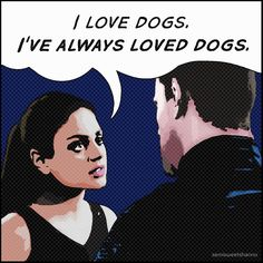 Jupiter Ascending - I love dogs. My favorite line in the movie!