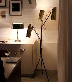 Jackson Mid Century Floor Lamp