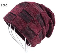 Men's Knitted Wool Winter Beanie