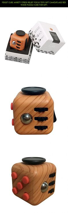 Fidget Cube Anxiety Stress Relief Focus Toys Gift Camouflage Red Wood Puzzle Cube For Gift. #drone #gadgets #xbox #products #plans #tech #fidget #technology #racing #fpv #camera #kit #shopping #cube #parts