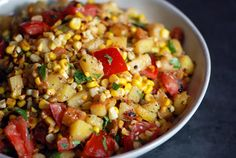 Toasted Corn and Potato Salad | 37 Delicious Ways To Eat Corn This Summer