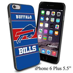 """NFL BUFFALO BILLS , Cool iPhone 6 Plus (6+ , 5.5"""") Smartphone Case Cover Collector iphone TPU Rubber Case Black [By NasaCover] NasaCover http://www.amazon.com/dp/B012BCLZKS/ref=cm_sw_r_pi_dp_7PoXvb08RYAEN"""