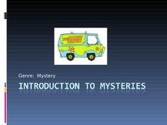 Getting ready to read Agatha Christie?When we read And Then There Were None by Agatha Christie, I use this PowerPoint to get students interested in the genre of mysteries.