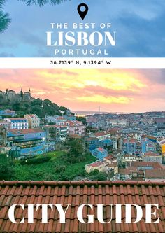 Easily one of our favorite destinations in Europe, this Lisbon City Guide has it covered! Here's the top 15 things you need to see, eat, and do. Algarve, Europe Travel Tips, European Travel, Travel Destinations, Travel Guides, Malaga, Portugal Travel Guide, Portugal Trip, Portugal Vacation