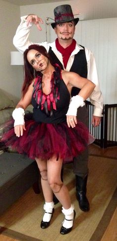 DIY Puppet and Puppet Master Halloween Costume. Doll - Ventriloquist