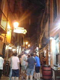 Logrono: Calle del Laurel