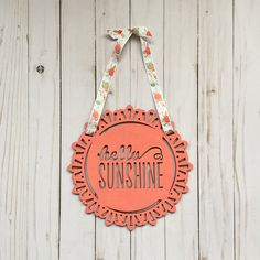 https://www.etsy.com/listing/269921065/coral-hello-sunshine-coral-mint-gold