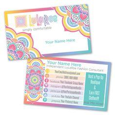 LuLaRoe Custom Business Card Design Home By LilStarletCouture