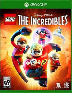 Lego The Incredibles (Xbox One) - Switch Nintendo - Switch Nintendo for sales - - Warner Bros. Lego The Incredibles (Xbox One) Lego Disney, Disney Pixar, Br Games, Lego Games, Xbox One Games, Ps4 Games For Kids, Lego Humor, Lego Marvel, The Incredibles Games