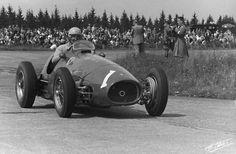 Ascari  Germany Ferrari  Car Ferrari F Vintage Race