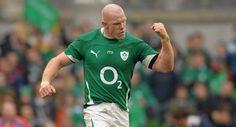 Paul O'Connell Ireland Rugby, Australian Football, Face Claims, Soccer, Running, Sports, Mens Tops, T Shirt, Dark
