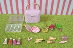 Re-ment (Rement) Miniature Toys : Puchi Cosmetics #2 SWEET Pink Bag Lipstick by HarapekoDoggyBag, via Flickr
