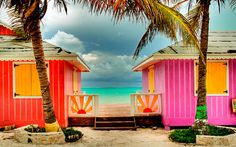 Turks and Caicos Islands.the perfect beach getaway! The Places Youll Go, Places To Go, Case Creole, What's My Favorite Color, Beach Please, Beach Cottages, Beach Houses, Turks And Caicos, Daytona Beach