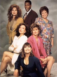 Designing Women (1986-1993) The cast included Meshach Taylor as Anthony Bouvier.