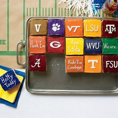 Touchdown! Team Color Icing Formulas - Southern Living