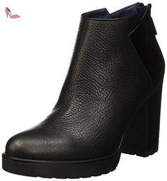 Shoes, Bottes Chelsea Femme - Rot (Bordeaux 554), 38 EUPollini
