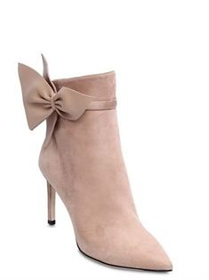 Discover women's top designer clothing, shoes and bags on LUISAVIAROMA. Suede Ankle Boots, Jimmy Choo, Kitten Heels, Boots Women, Footwear, Nude, Fall Winter, Leather, Shoes