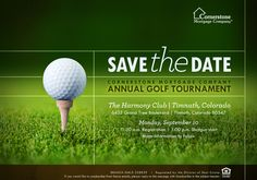 fundraising infographic : 2012 Cornerstone Annual Golf Tournament Collateral on Behance Golf Invitation, Business Invitation, Invitation Wording, Email Invites, Invitation Templates, Golf Outing, Golf Day, Golf Player, Golf Lessons