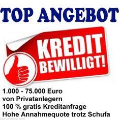 Kredit Sofortkredit, Eilkredit von Privat und Bankenpool trotz ohne Schufa  http://www.gratis-banking.de/projektfinanzierung/kredit-ohne-schufa/