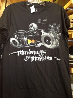 c1af66f63602e Donald on his Motorcycle- Mavericks of Mayhem Men s Shirt - The Mavericks  of Mayhem