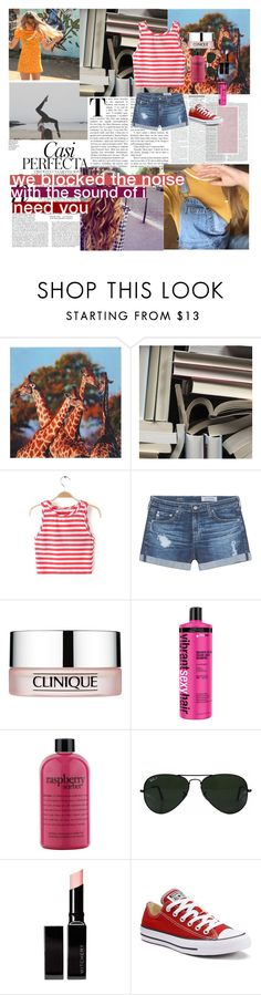 """""""☼ and for the first time i had something to lose ☼"""" by perfxct-escape ❤ liked on Polyvore featuring Mr Perswall, Whiteley, AG Adriano Goldschmied, Clinique, philosophy, Ray-Ban, Witchery, Converse, kyleesfashion and kyleesmagazines"""