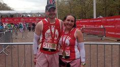 London Marathon: Preston bowel cancer patient completes 26-mile race - BBC News
