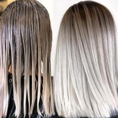 blonde hair Shadow Root Hair: Low Maintenance Melted Looks Landscaping, An American Pass Time Articl Ice Blonde Hair, Blonde Hair Looks, Icy Blonde, Balayage Hair Blonde, Platinum Blonde Hair, Ombre Hair, Icy Hair, Cool Ash Blonde, Blonde Honey