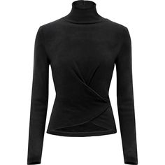 Women's HEATTECH Fleece Long Sleeve High Neck T-Shirt